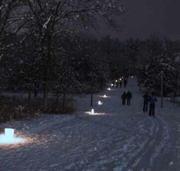 Candle light Hike
