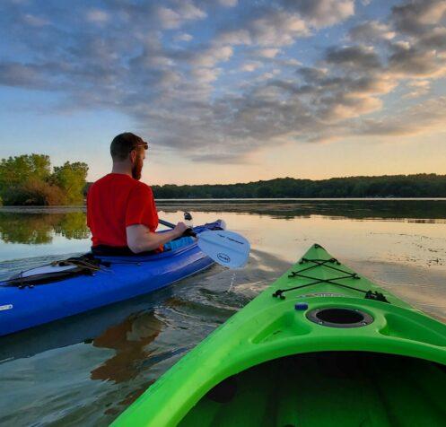 Kayak Whitewater Lake